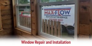 Max-Flow Seamles Gutters & Windows Window Repair and Installation CNY