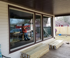 Max-Flow Seamles Gutters & Windows new window installation in CNY