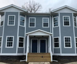 max flow seamless gutter installation in central new york